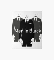 Men in black Art Board
