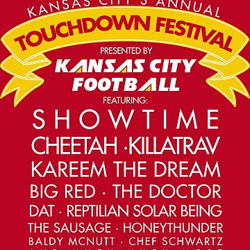 TOUCHDOWN FESTIVAL (WHITE) by heckyesco