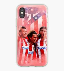 Atletico Illustration iPhone Case