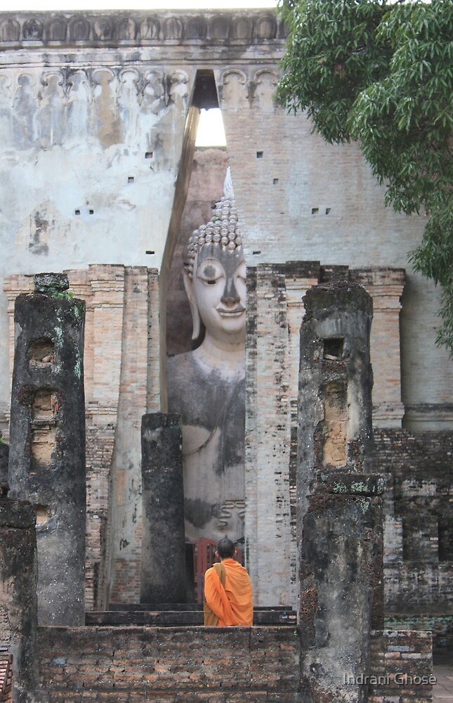 A Spiritual Moment by Indrani Ghose