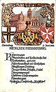 Kaiser Wilhelm Breakfast Menu..Marienburg Castle..1902 by edsimoneit
