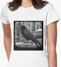 Black And White Crow T-Shirt