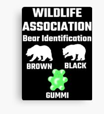 Wildlife Association Bear Identification Canvas Print