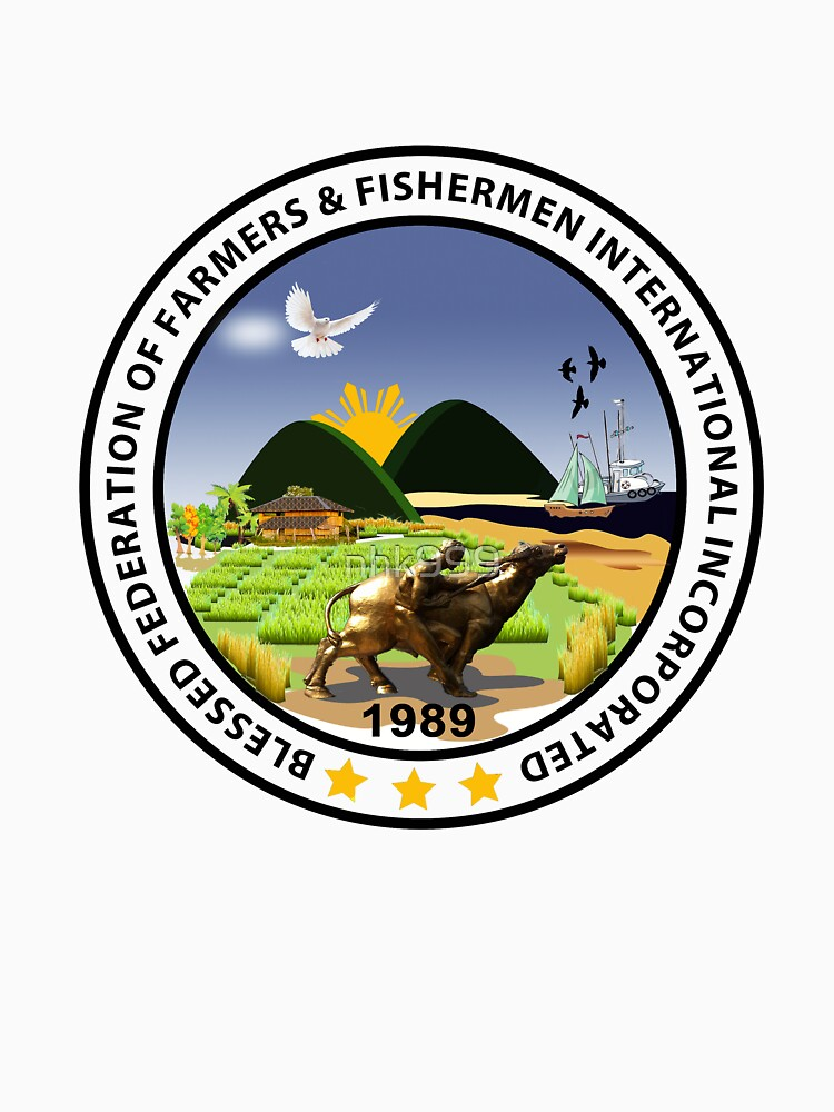 Blessed Federation of Farmers & Fishermen t-shirt /stickers by nhk999