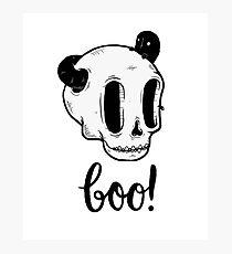Skull Boo Fotodruck