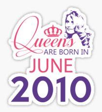 It's My Birthday 8. Made In June 2010. 2010 Gift Ideas. Sticker