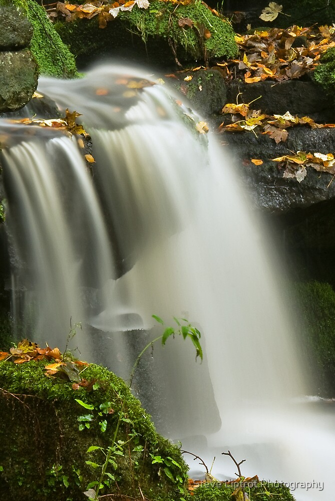 Smithills Waterfall by Stephen Liptrot