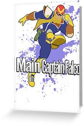 I Main Captain Falcon - Super Smash Bros. by PrincessCatanna