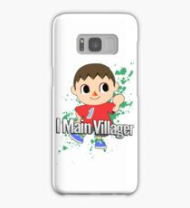 I Main Villager - Super Smash Bros. Samsung Galaxy Case/Skin