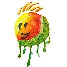 happy summer face by ozgunevren