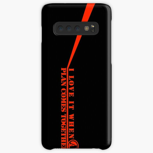 The A-Team: I Love It When A Plan Comes Together Samsung Galaxy Snap Case