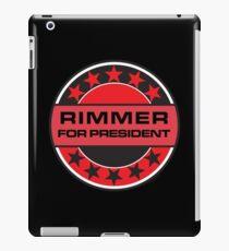 Rimmer For President iPad Case/Skin