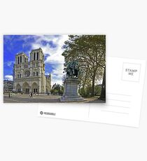 Cathédrale Notre-Dame et Charlemagne Postcards