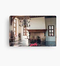 A Dining Hall - Laarne Castle - Belgium  Canvas Print