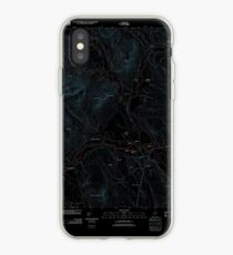 Maine USGS Historical Map Bethel 20120118 TM Inversion iPhone-Hülle & Cover