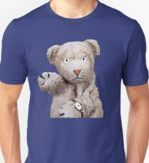 Daniel Striped Tiger - Herr Rogers Slim Fit T-Shirt