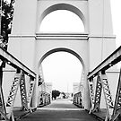 Waco Suspension Bridge by Steve Hunter