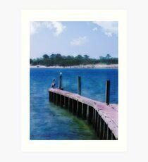 St. Vincent Island, FLA Art Print