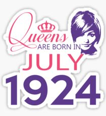 It's My Birthday 94. Made In July 1924. 1924 Gift Ideas. Sticker