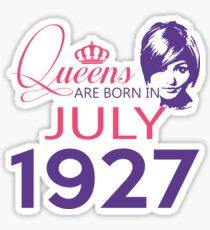 It's My Birthday 91. Made In July 1927. 1927 Gift Ideas. Sticker