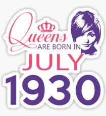 It's My Birthday 88. Made In July 1930. 1930 Gift Ideas. Sticker