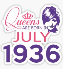 It's My Birthday 82. Made In July 1936. 1936 Gift Ideas. Sticker