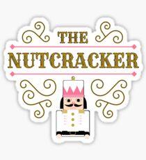 The Nutcracker Christmas Dance square Sticker