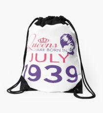 It's My Birthday 79. Made In July 1939. 1939 Gift Ideas. Drawstring Bag