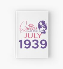 It's My Birthday 79. Made In July 1939. 1939 Gift Ideas. Hardcover Journal
