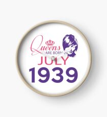 It's My Birthday 79. Made In July 1939. 1939 Gift Ideas. Clock