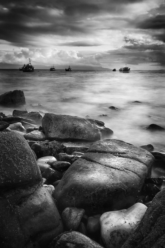 Turning Tide at Elgol, Isle of Skye, Scotland by Robin Whalley