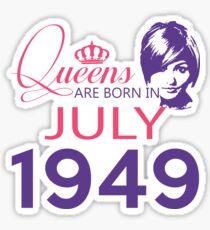 It's My Birthday 69. Made In July 1949. 1949 Gift Ideas. Sticker