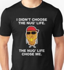 Funny Chicken Nuggets Gangster Nug Life Unisex T-Shirt