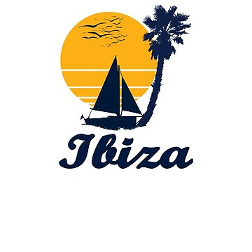 Ibiza Spain Sunset Beach Party Gift Idea  by hani26may