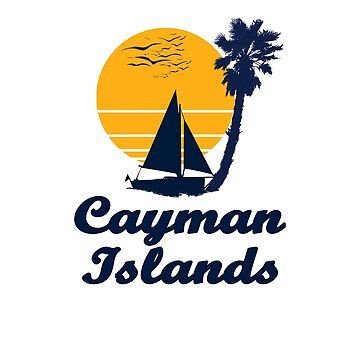 Cayman Islands Sunset Beach Party Gift Idea  by hani26may