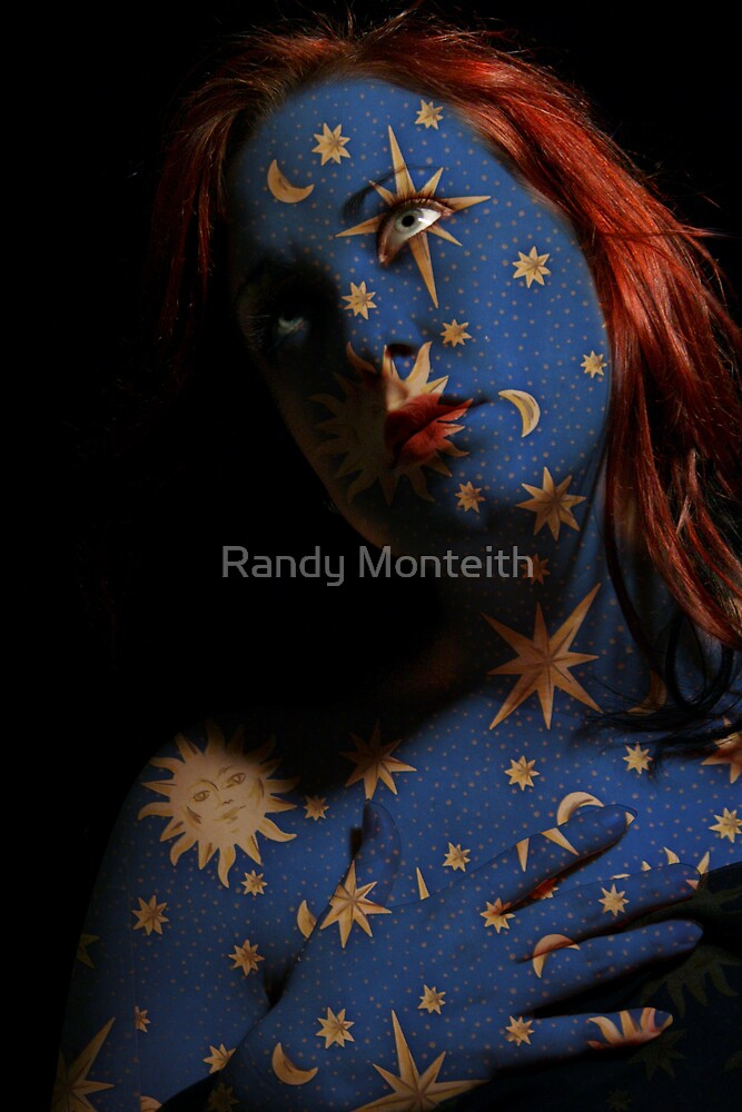 Stardust Chameleon by Randy Monteith