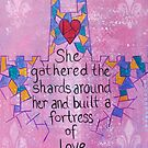 Fortress of Love by emilypageart