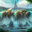«Caídas de la montaña» de Johannes Kert Roots