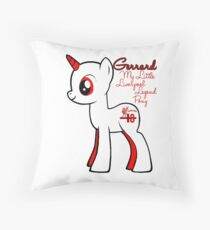 Gerrard Unicorn Throw Pillow