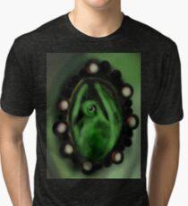 Green Pigeot Tri-blend T-Shirt