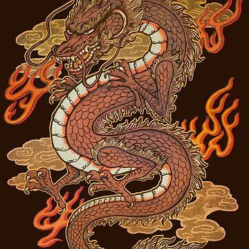 Golden Dragon by Villainmazk