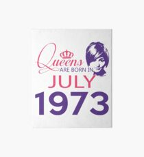 It's My Birthday 45. Made In July 1973. 1973 Gift Ideas. Art Board