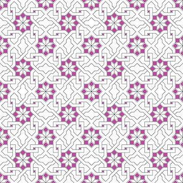 Geometric Pattern - Oriental Design  by ohaniki