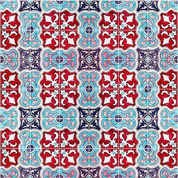 Seamless Floral Pattern Ornamental Design :  x24 by ohaniki