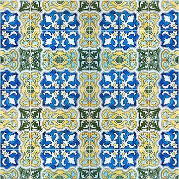 Seamless Floral Pattern Ornamental Design : x25 by ohaniki