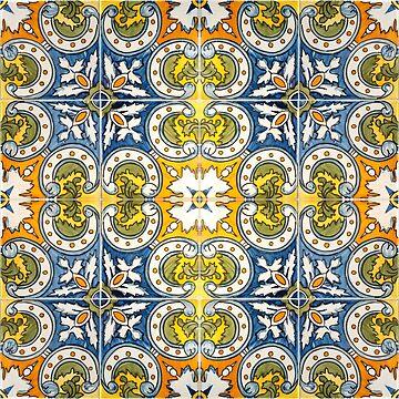 Seamless Floral Pattern Ornamental Design : x27 by ohaniki