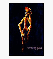 Don Quijote Photographic Print