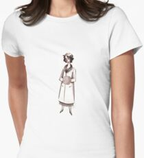 1920s Socialite Women's Fitted T-Shirt