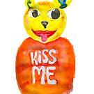 kiss me bear by ozgunevren