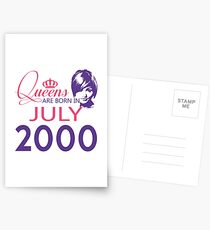 It's My Birthday 18. Made In July 2000. 2000 Gift Ideas. Postcards